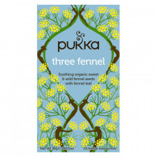 Pukka Three Fennel Te Ø (20 breve)