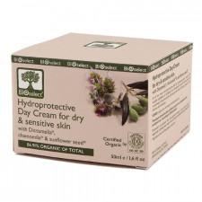 Dagcreme tør og følsom hud Bioselect BioEco (50 ml)