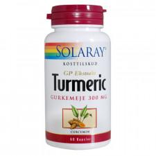 Solaray Turmeric Gurkemeje 300 mg (60 kapsler)