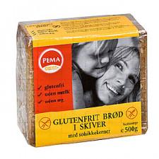 Brød i skiver glutenfri Pema (500 g)