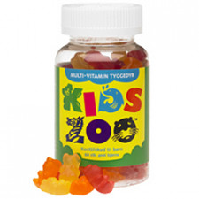 Kids Zoo Multivitaminer - Gelé Bjørn (60 Stk)