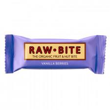 Rawbite Vanilla Berries Glutenfri Rawfoø (50 gr)