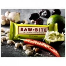 Rawbite Spicy Lime Glutenfri Rawfoodbarø (50 gr)