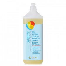 Vaskemiddel uld, silke oliven neutral Sonett (1 l)