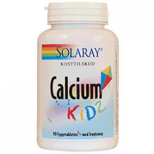Solaray Calcium Kids (90 tyggetabletter)