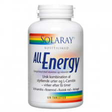 Solaray All Energy (120 tabletter)