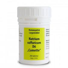 Camette Natrium sulf. D6 Cellesalt 10
