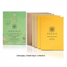 ORGAID Organic sheet mask (6 stk. 3 varianter)