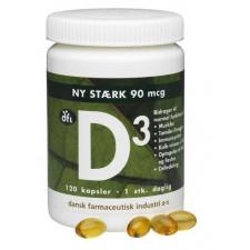D3-vitamin 90 mcg