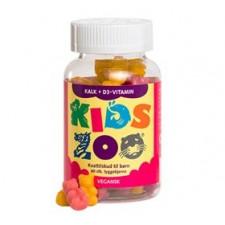 Kids Zoo Kalk og D Børnevitamin - Gelé Kanin (60 Stk)