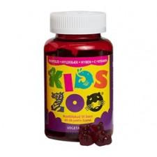 Kids Zoo Propolis m. hyld, hyben+c-vit vegetabilsk (60 tab)