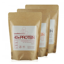 LinusPro WHEY100 Proteinpulver +40 - Flere smagsvarianter (500 g)
