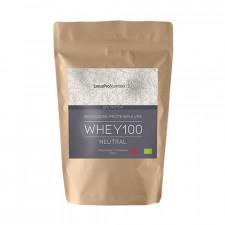 LinusPro Økologisk WHEY100 Proteinpulver - Neutral (500 g)