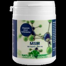 Natur Drogeriet Lignisul MSM 500 mg (180 kapsler)