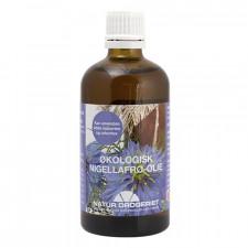 Nigellafrøolie koldpresset Ø sortkommenolie (100 ml)