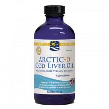 Torskelevertran+D m.citrus Cod liver oil 237 ml.