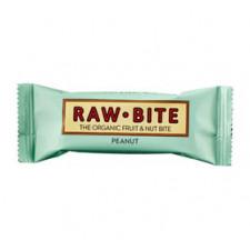 Rawbite Peanut Ø glutenfri frugt- og nøddebar (50 g)