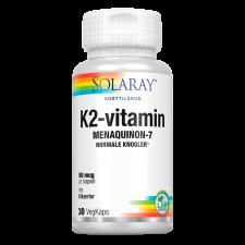 Solaray K2-vitamin 50 mcg (30 kapsler)