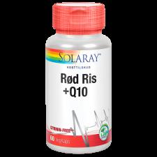 Solaray Rød Ris +Q10 (60 stk.)