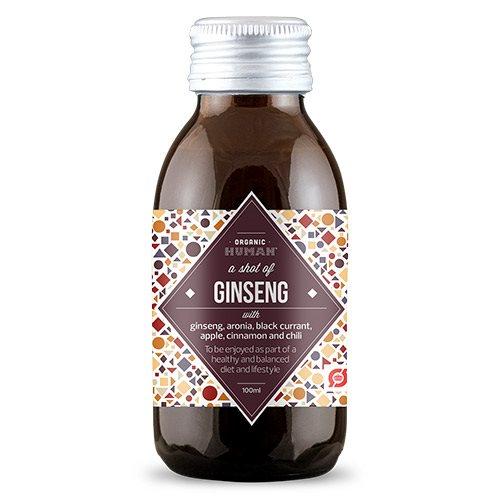 Organic Human ginseng shot