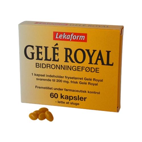Image of   Lekaform Gelé Royal (60 kapsler)