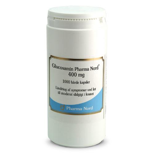 Pharma Nord Glucosamin 400 mg (1000 kapsler)
