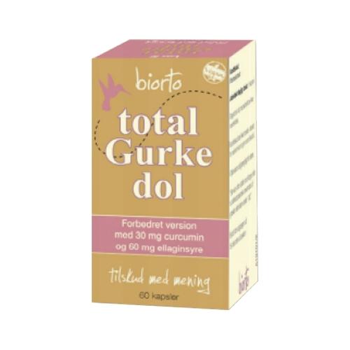 Image of   Biorto Total Gurkedol (60 kap)