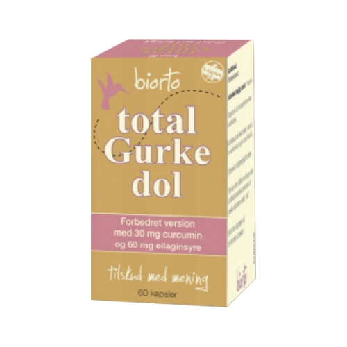 Image of   Biorto Total Gurkedol (60 kapsler)