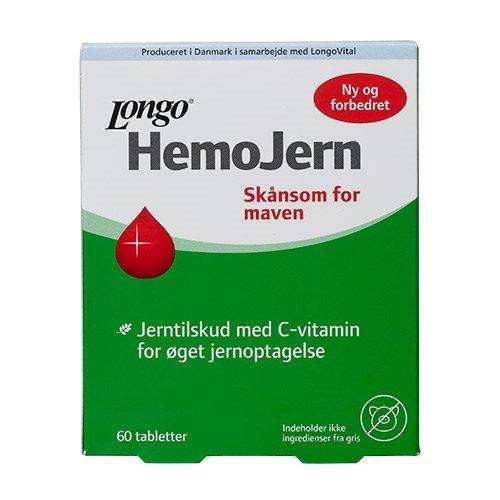 Billede af Hemo Jern - Jern tilskud (60 tab)