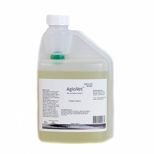 Image of   AgioVet kolloid sølv (500 ml)