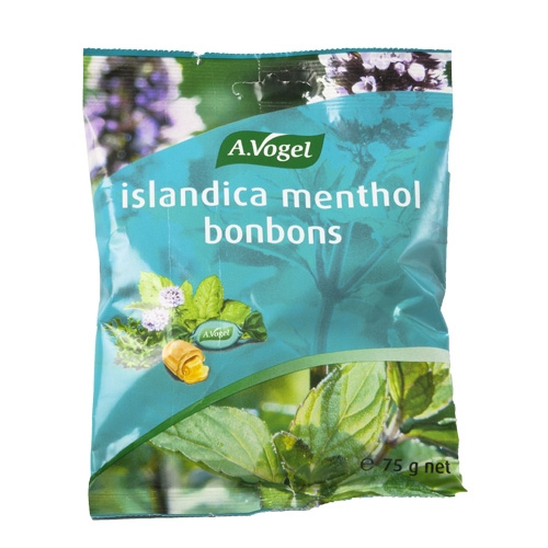 Image of   A. Vogel Islandica menthol bonbons (75 gr)