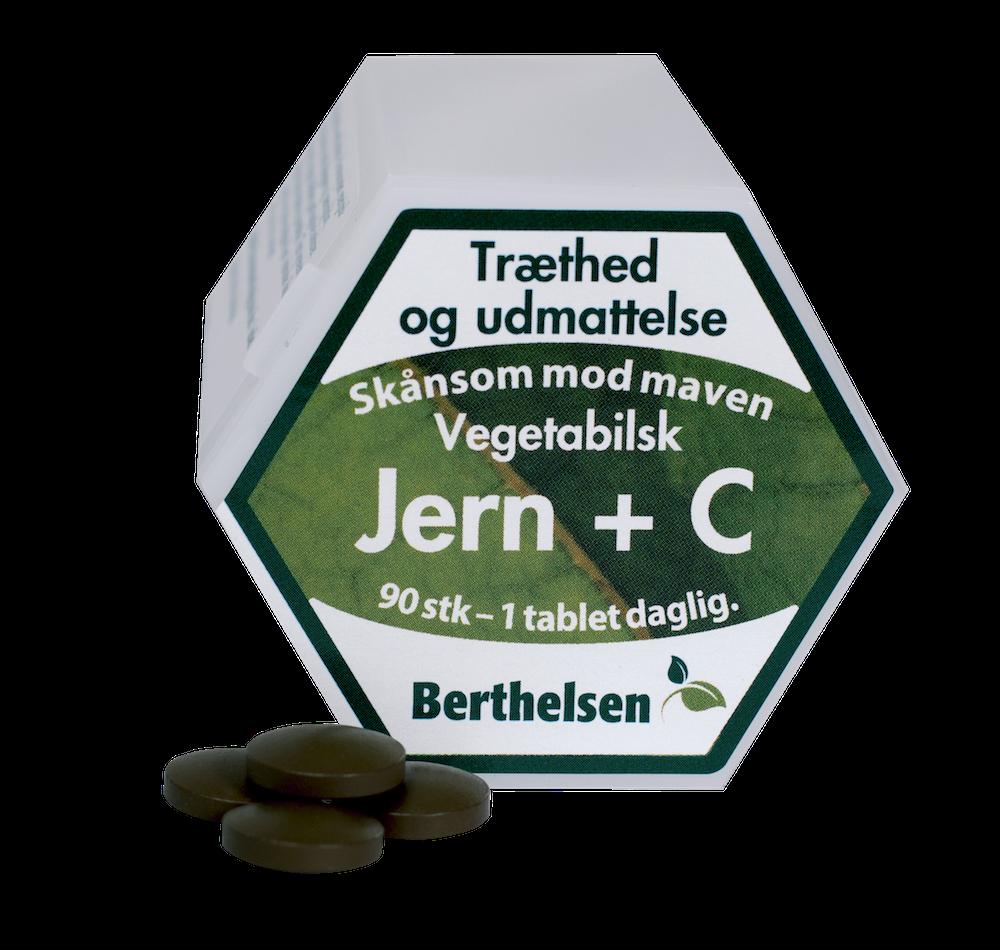 Image of   Jern med C Berthelsen (90 tab)
