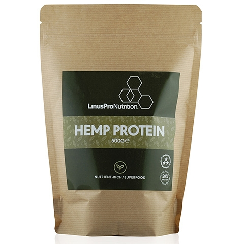 Image of   LinusPro Hamp proteinpulver (500 g)