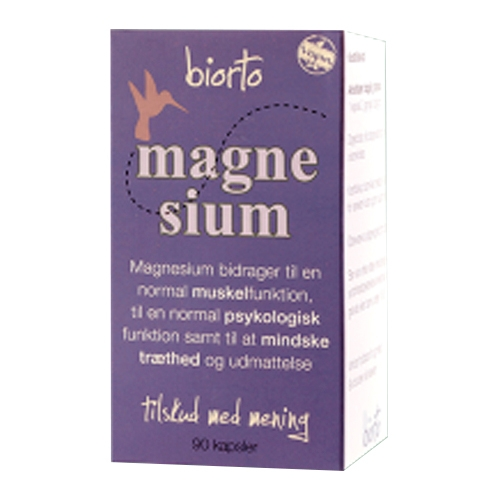 Billede af Biorto Magnesium (90 kapsler)