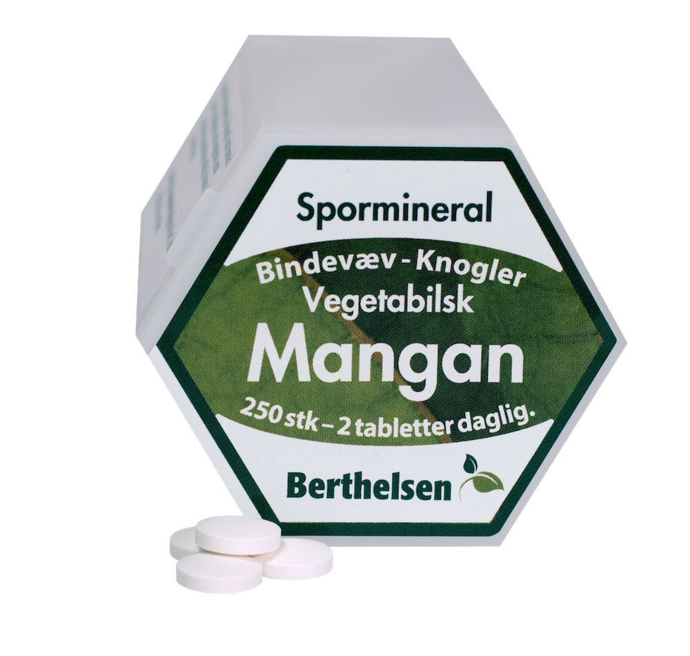Billede af Mangan 3,75 mg Berthelsen (250 tab)