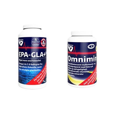 Image of   Biosym Omnimin + EPA-GLA+ tilbud