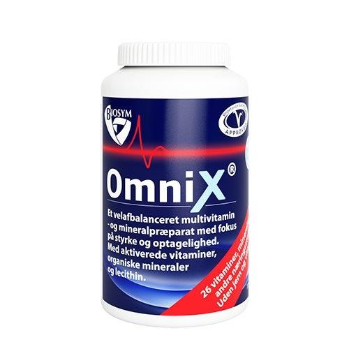 Billede af Biosym OmniX uden jern og k-vitamin (175 tabletter)