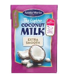 Santa Maria The Lighter Coconut Milk (400 ml)