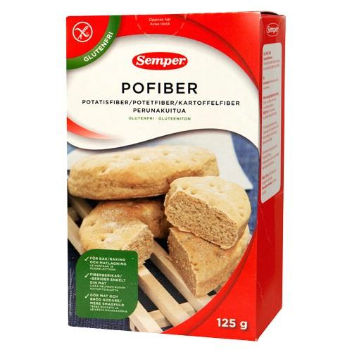 Billede af Semper Pofiber - Kartoffelfiber (125 g)
