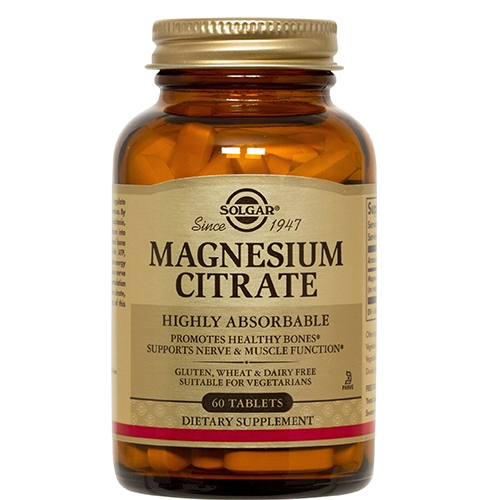 Image of   Magnesium citrate 200 mg (60 tab)