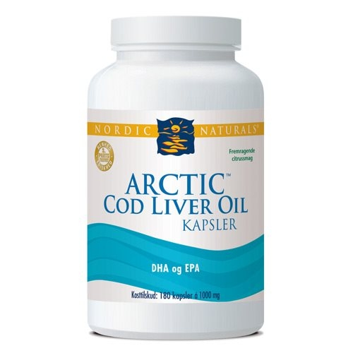 Arctic Cod Liver Oil (180 kap)