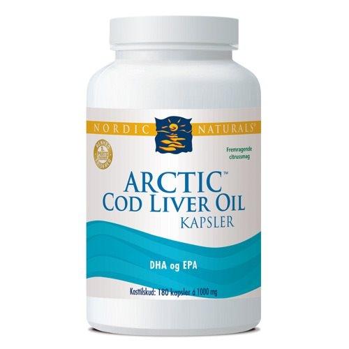 Image of Arctic Cod Liver Oil (180 kap)