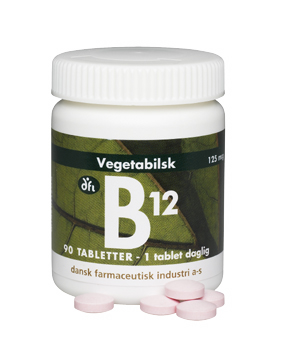 Image of   B12 vitamin (90 kap)