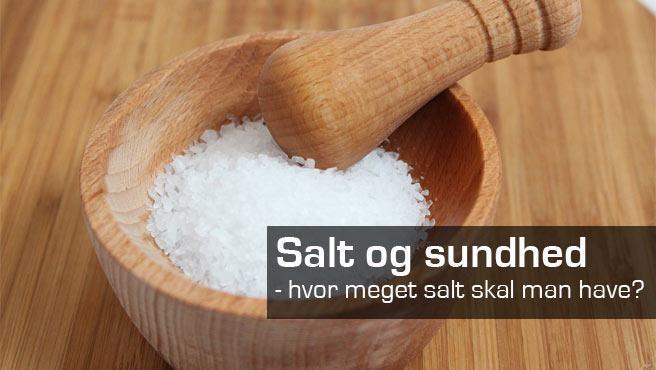 Salt og sundhed