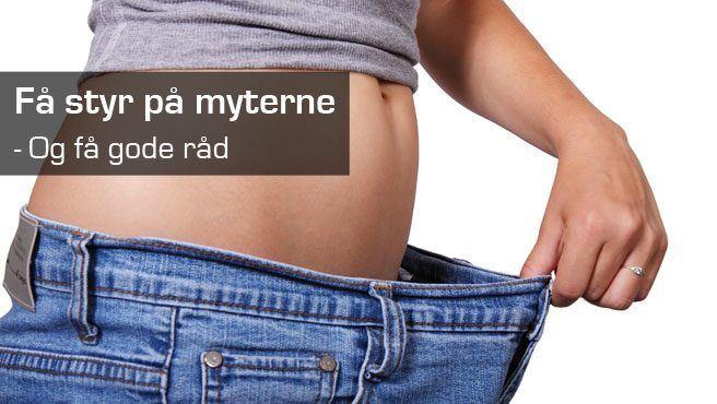 Myter og gode råd om vægttab
