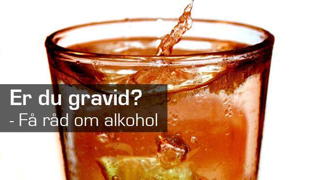 Gravide og alkohol